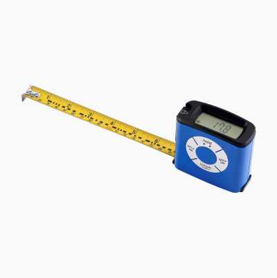 Digital tape measure (5 m).