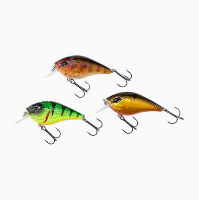 Crankbait and Spoon, 3-pack