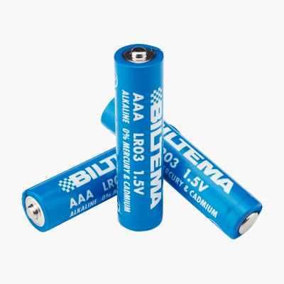 AAA/LR03 Alkalisk batteri, 10-pakning