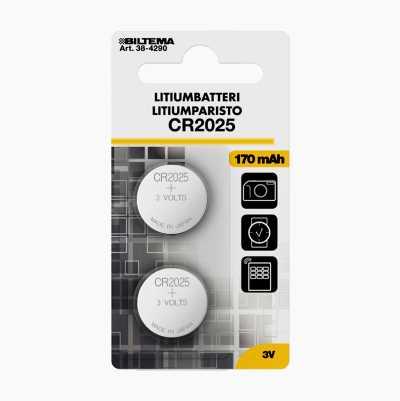 CR2025 Litiumbatteri
