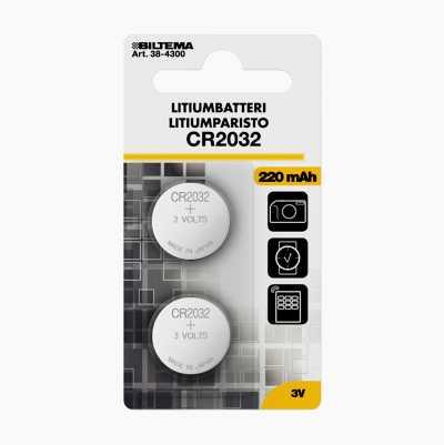CR2032 Litiumbatteri