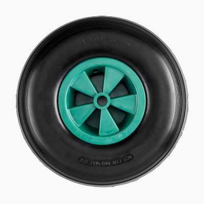 Solitt hjul