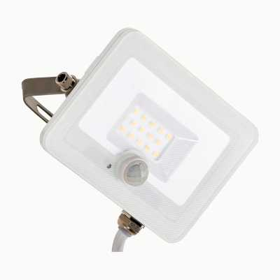 LED floodlight with PIR sensor