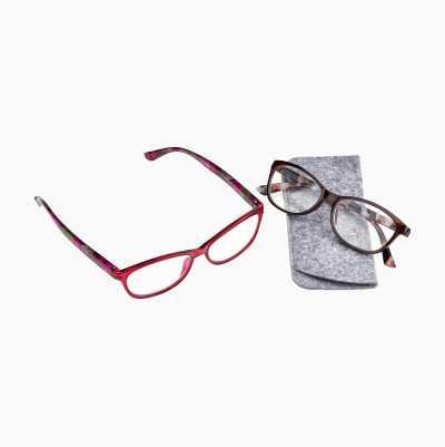 Läsglasögon, 2-pack