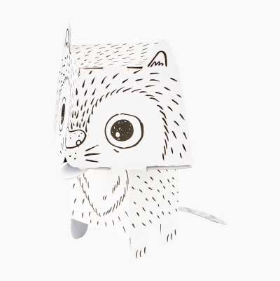 Colouring Cat