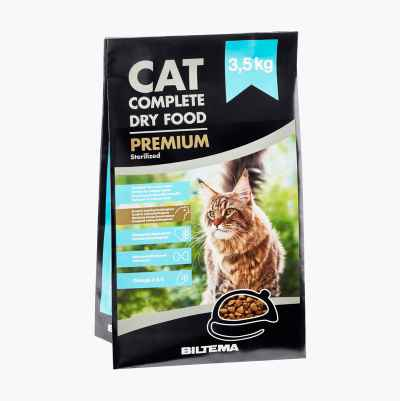 Premium Cat Food, 3.5 kg