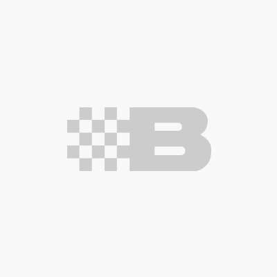 Fritidsjacka i stripad fleece, svart