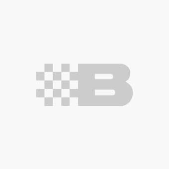 Fritidsjakke af stribet fleece, sort