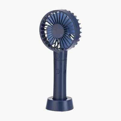 Håndholdt ventilator med powerpack, 2000 mAh