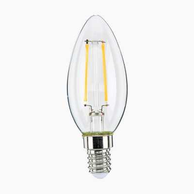 Candle Bulb E14, clear
