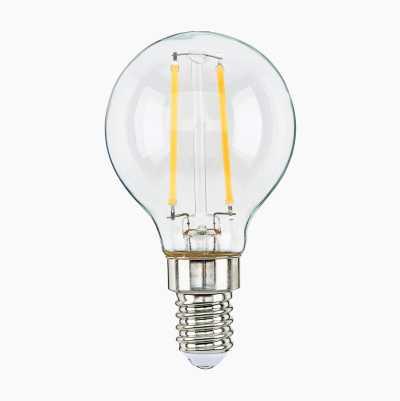 Minipallolamppu E14, himmennettävä, kirkas