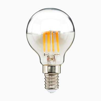 Spegeltoppslampa E14, dimbar, 2700 K