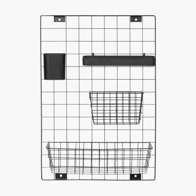Metal Grid Noticeboard