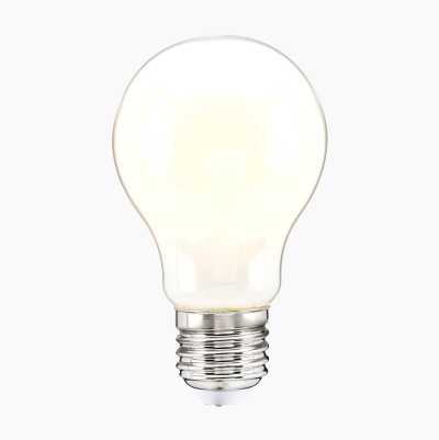 Normal bulb E27, dimmable, frosted