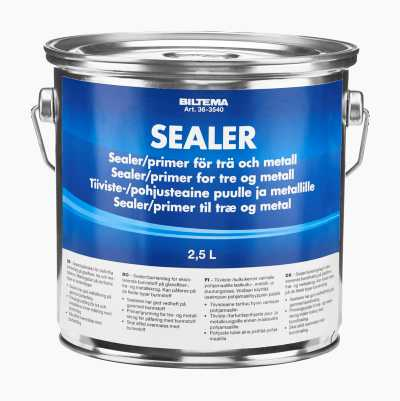 Sealer, primer for wood and metal
