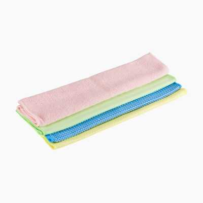 Microfibre Cloths, 4-pack