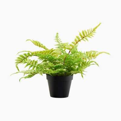 Artificial plant in pot