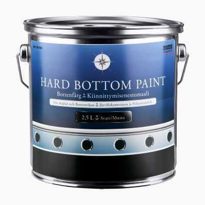 Hard anti-fouling paint, biocide free