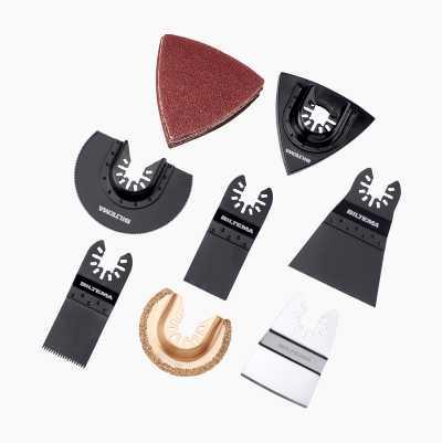 Multi-tool accessories, 22 parts