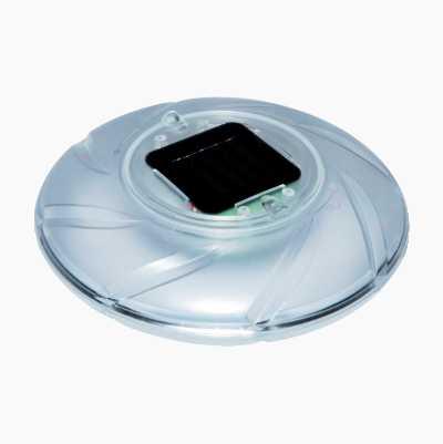Flytende lampe, solcelledrevet