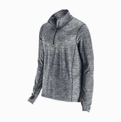 Men's Workout Top, half zip