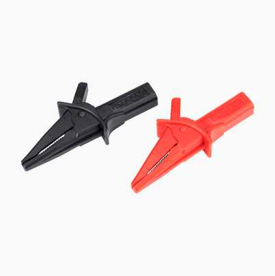 Crocodile clamps, 2 pcs