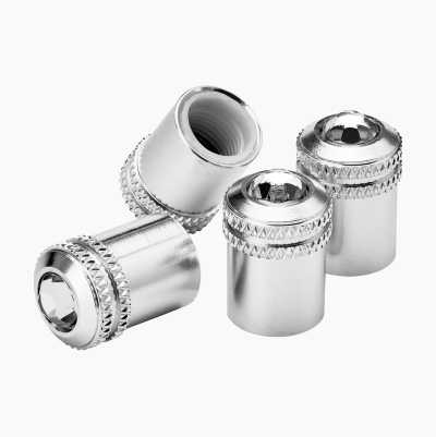 Valve Caps, Diamond, 4-pack
