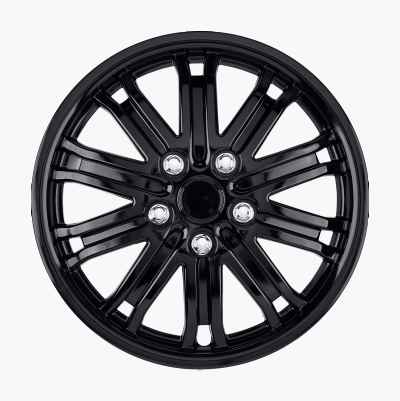 Wheel Covers, Gloss Black, 4-pack