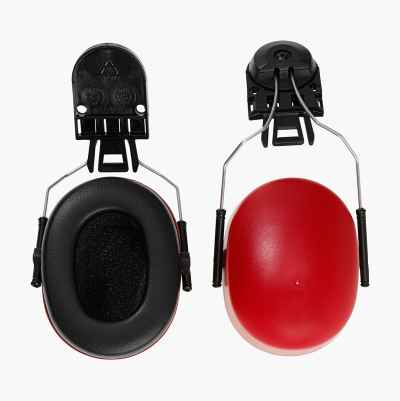 Hearing protection for safety helmets