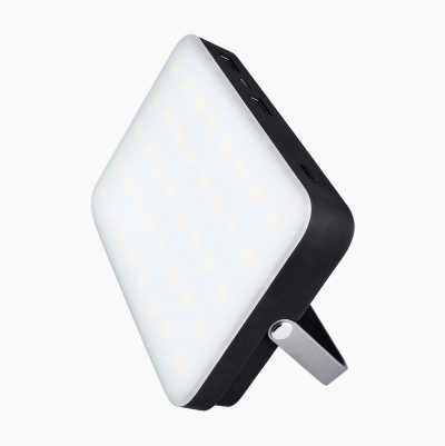 Powerpack med LED-lampe, 20.000 mAh