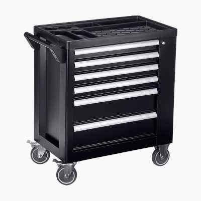 Tool Trolley and Tools, 161 parts