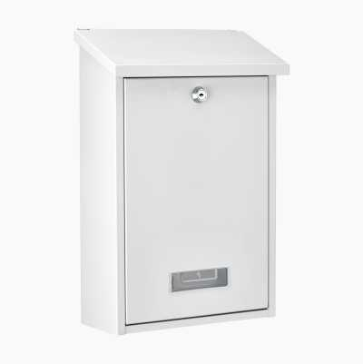 Letterbox with lock
