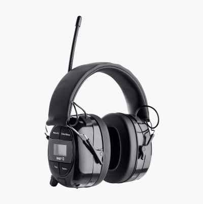 Hørselvern med Bluetooth/FM/DAB+radio/AUX