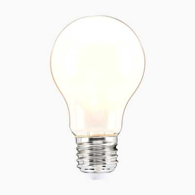 Light Bulb E27, frosted, 3-pack