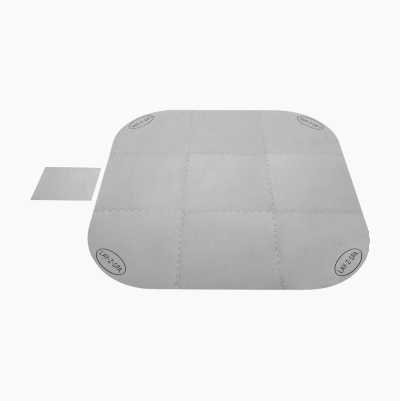 Ground protector for pool and hot tub