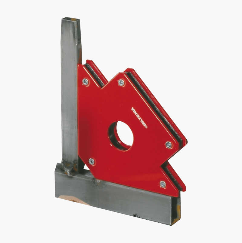 Magnetic set square