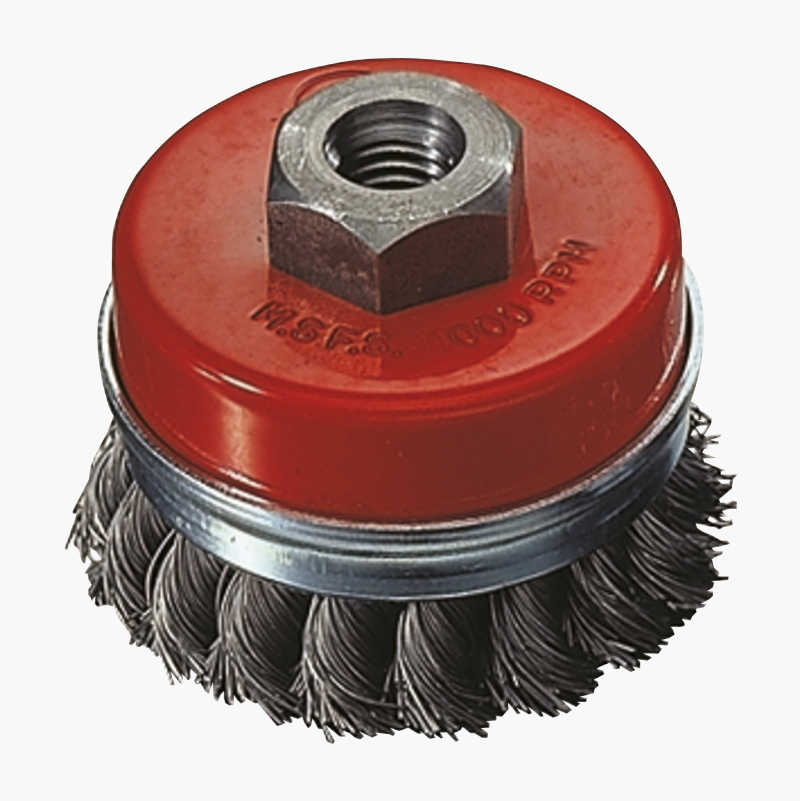 Axial brush