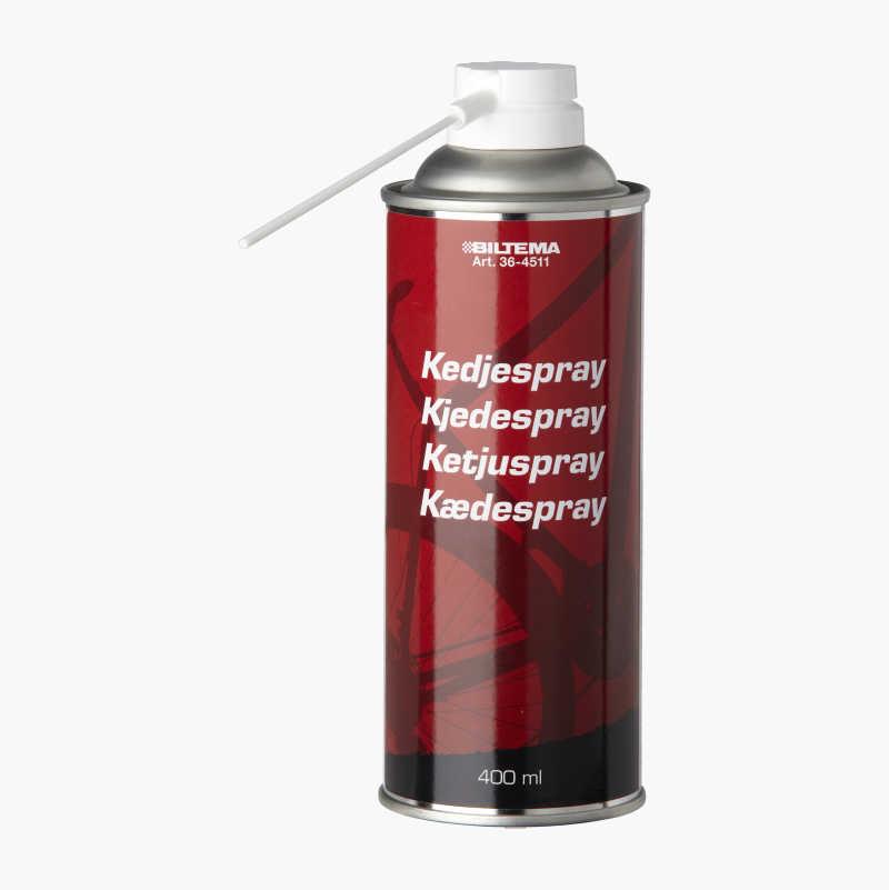 Chain spray