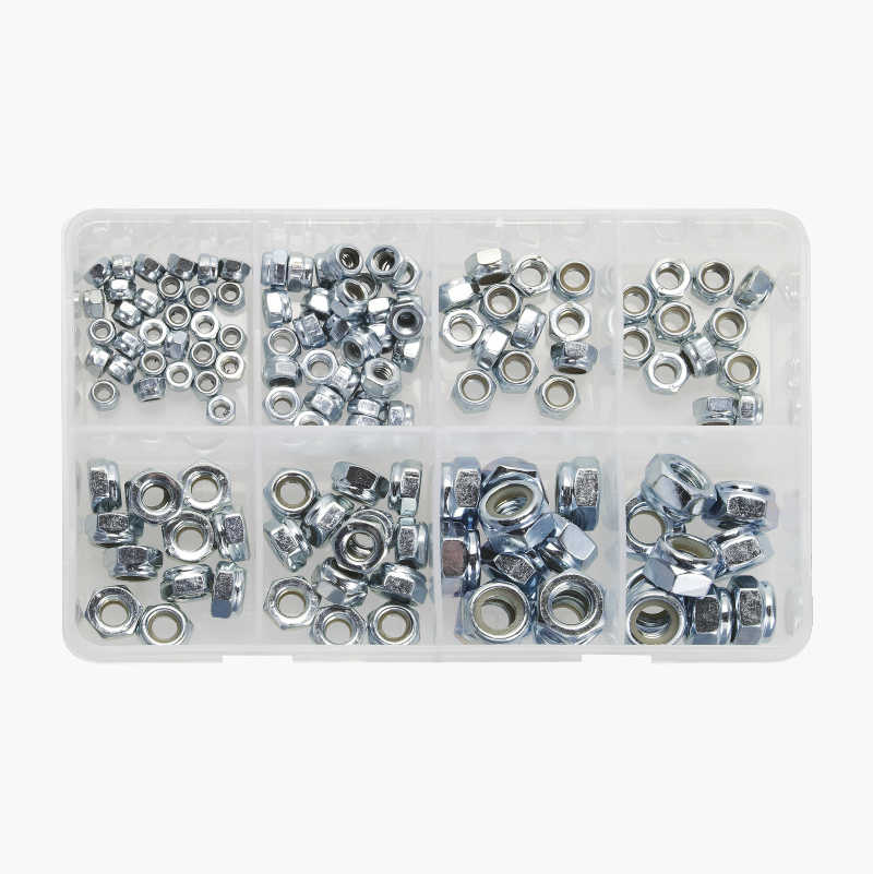 Locking nuts, 130 pcs.
