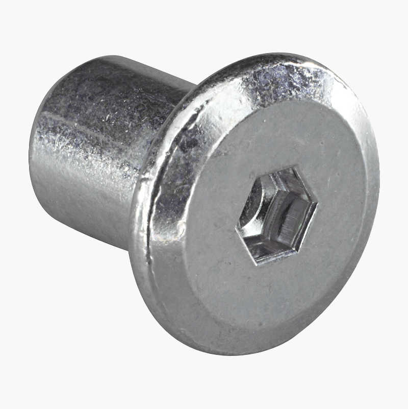 Socket nuts, 10 pcs