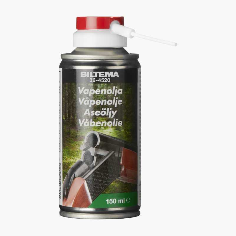Firearms oil, spray