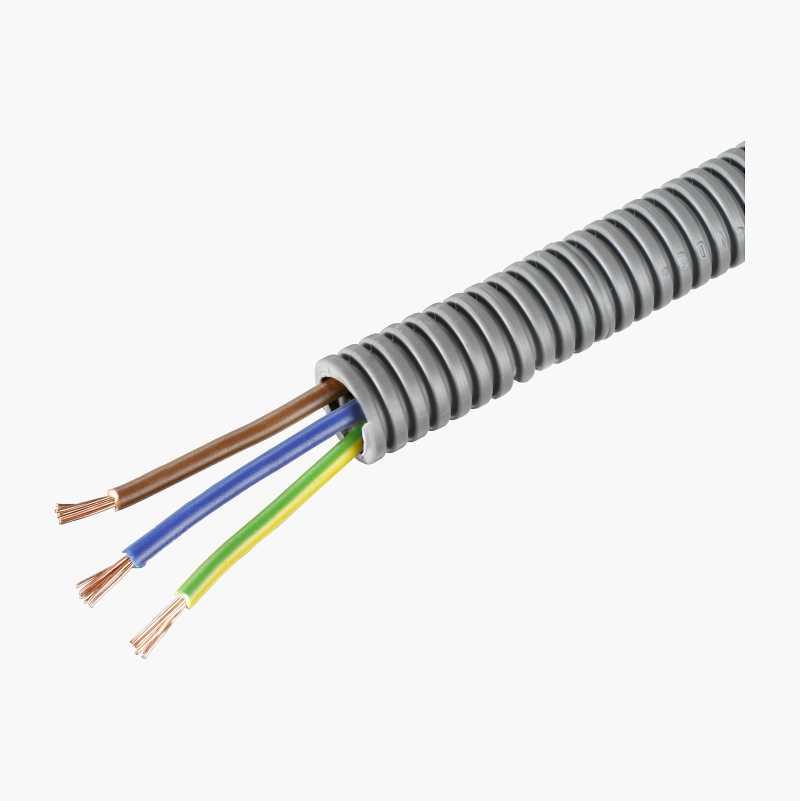Flexslange med kabel