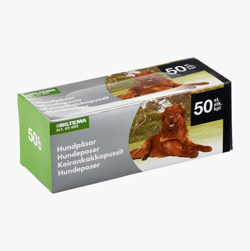 Dog Waste Bags, 50-pack