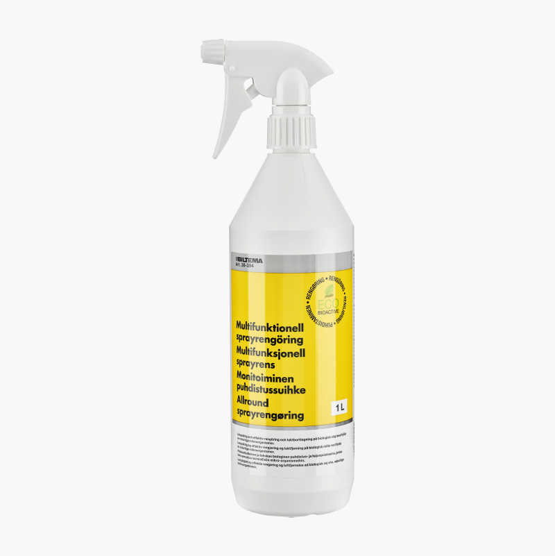 Multifunctional spray-cleaner