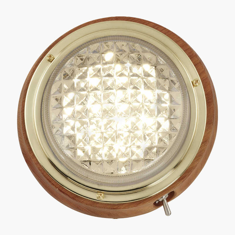 Teak lamp LED