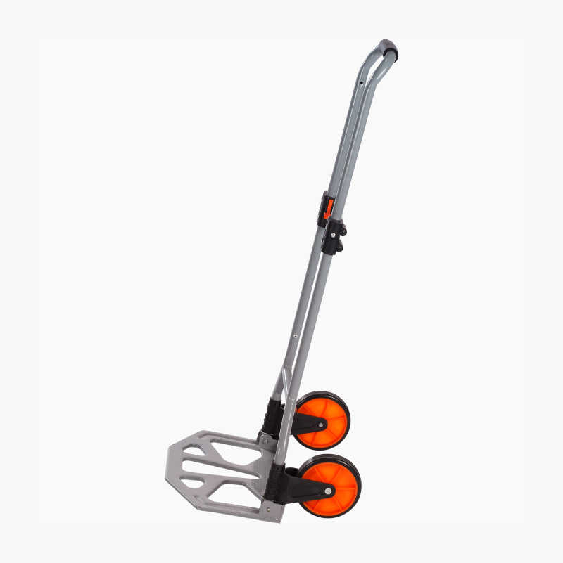Baggage trolley, collapsible