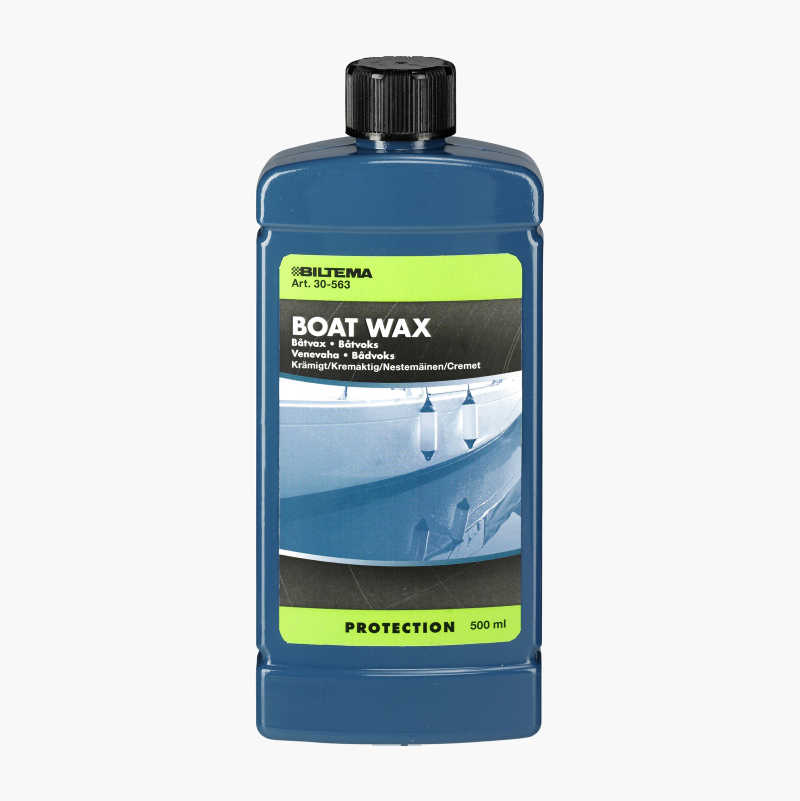 Boat wax, creamy