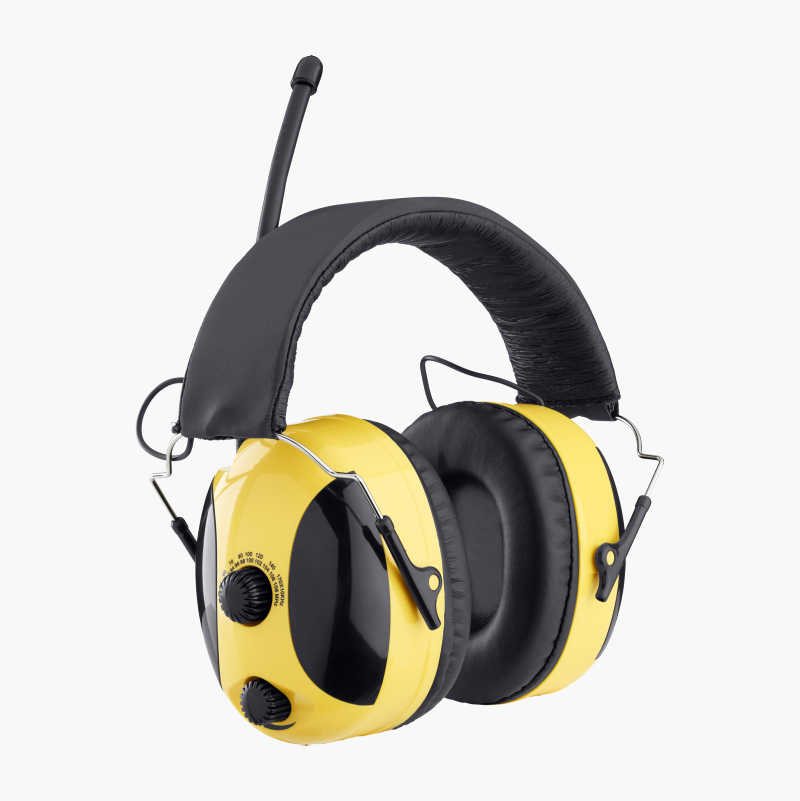 Hörselskydd med radio/AUX