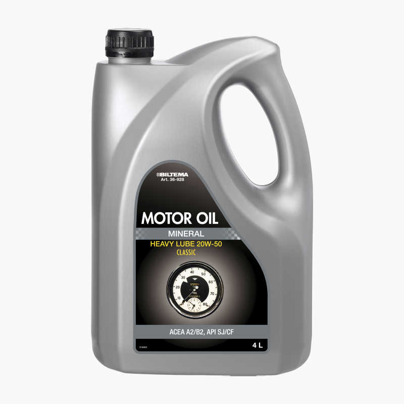 Mineral Engine Oil, Classic 20W–50