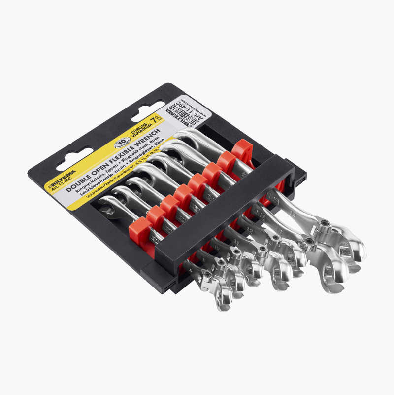 Open Ring Spanner Set